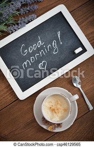 Buenos días - csp46129565