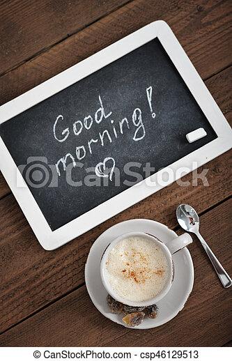 Buenos días - csp46129513