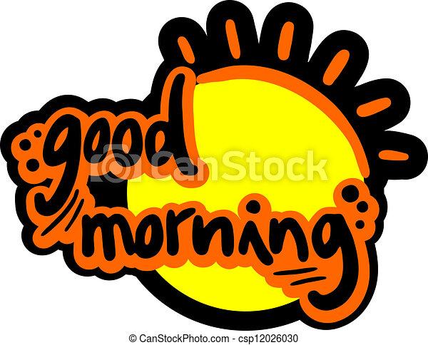 buenos días - csp12026030