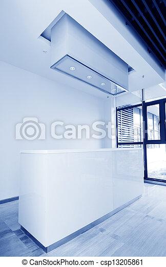 Büro Empfangsbereich - csp13205861