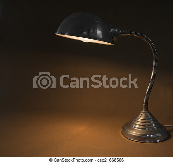 Vintage Office Lampe - csp21668566