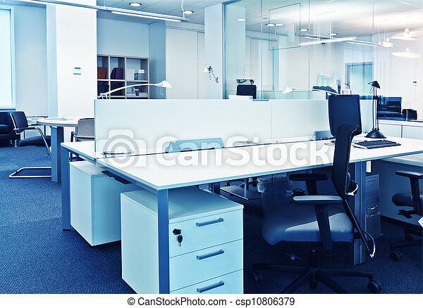 Modernes Büro - csp10806379