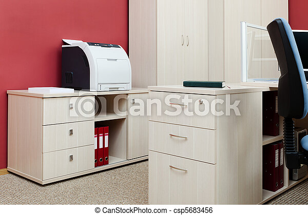 Modernes Büro - csp5683456