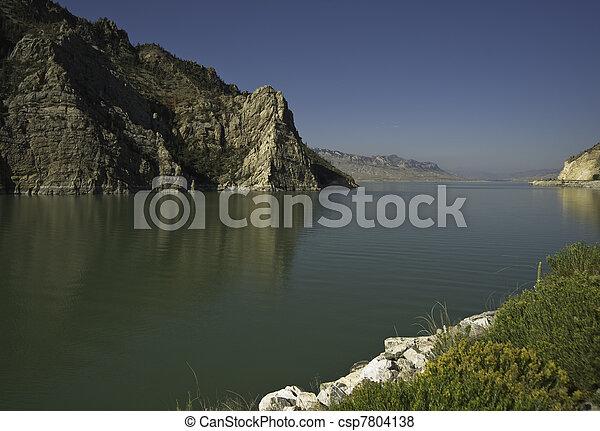 Buffalo Bill Reservoir - csp7804138
