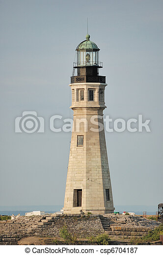 Buffalo Main Lighthouse - csp6704187