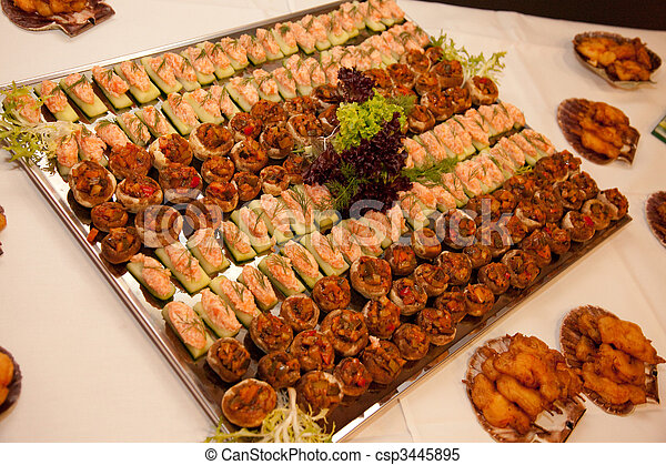 Buffet, catering - csp3445895