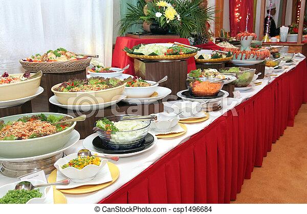buffet dinner - csp1496684
