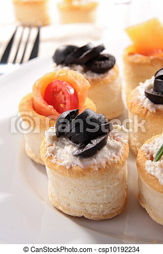 buffet food, canape - csp10192234