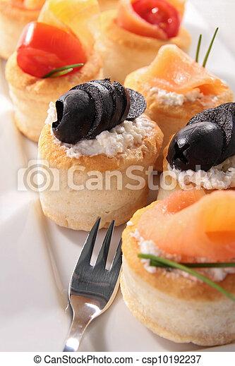 buffet food, canape - csp10192237