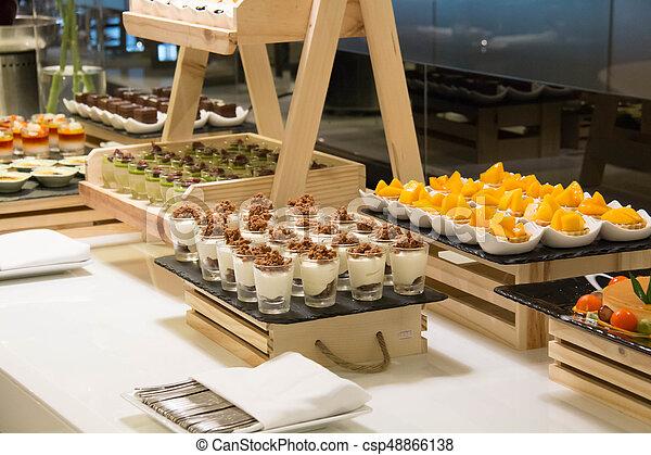 Superb Buffet Food Dessert Dinner At Restaurant Download Free Architecture Designs Scobabritishbridgeorg