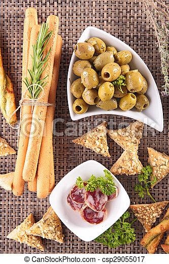 buffet food - csp29055017