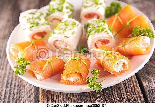 buffet food - csp30501071