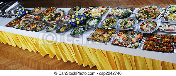buffet food - csp2242746