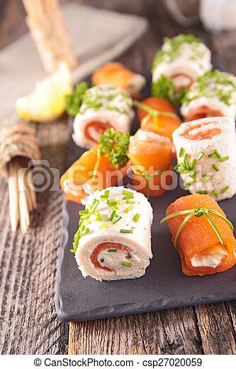 buffet food - csp27020059