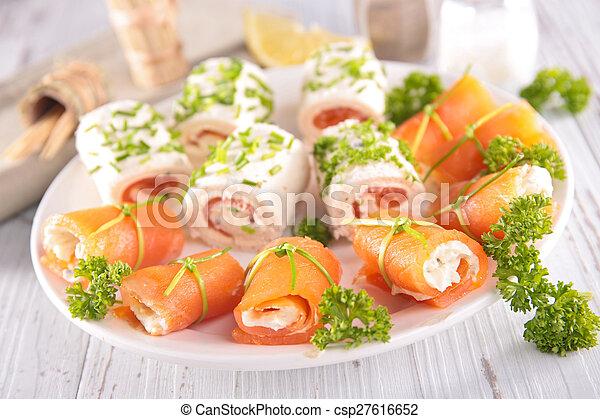 buffet food - csp27616652