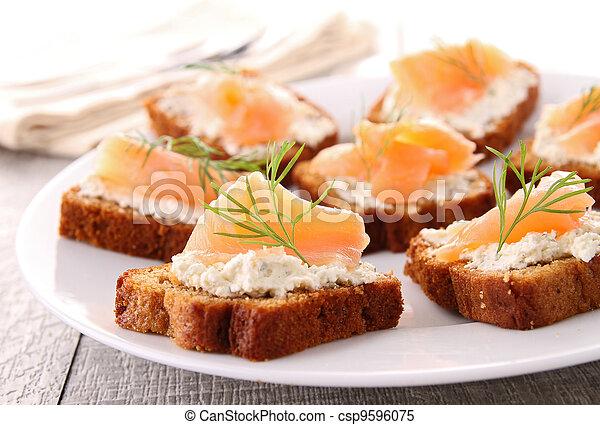 buffet food - csp9596075