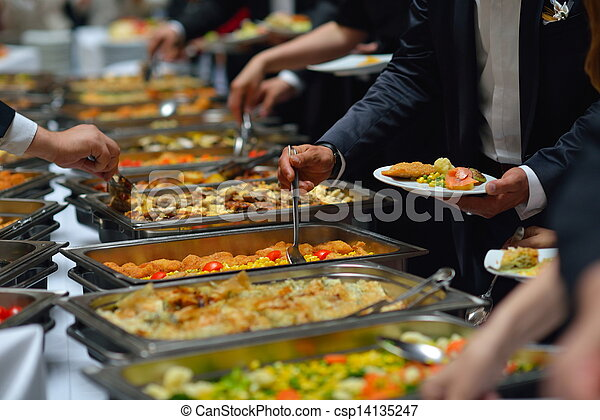 buffet food - csp14135247