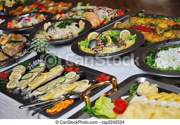 buffet food - csp2242524