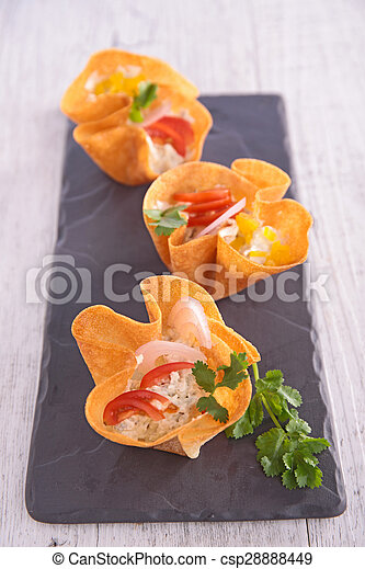 buffet food - csp28888449