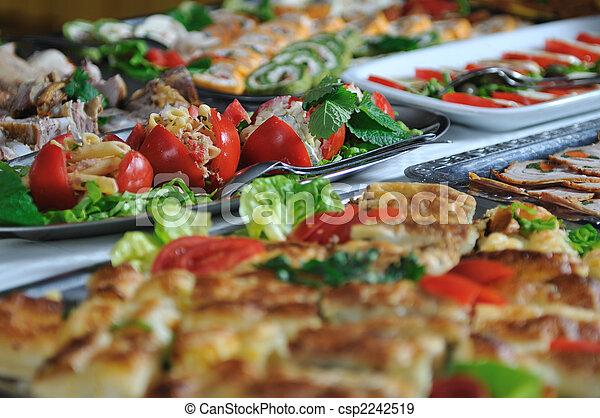buffet food - csp2242519