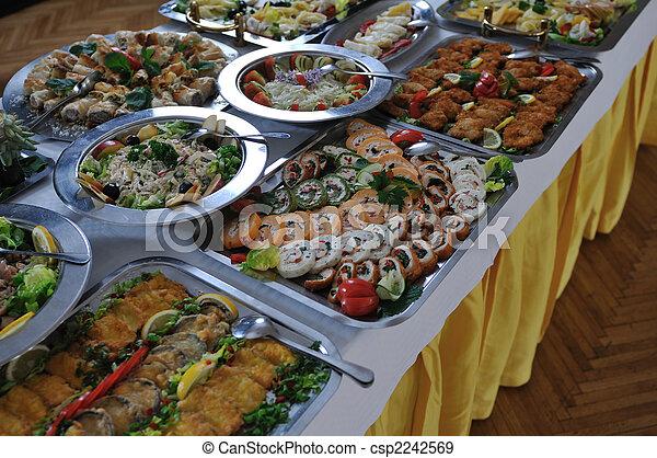 buffet food - csp2242569