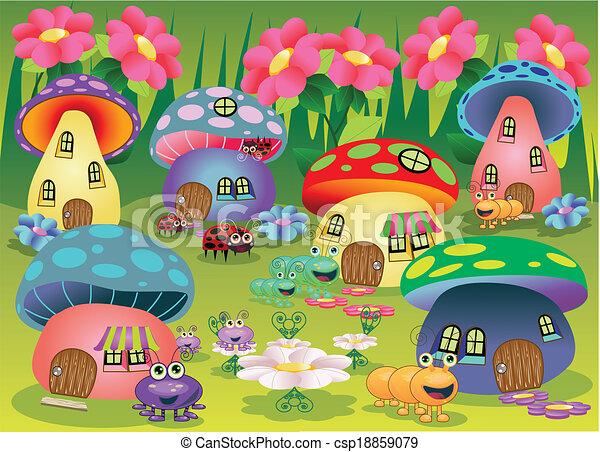 Bug Town - csp18859079