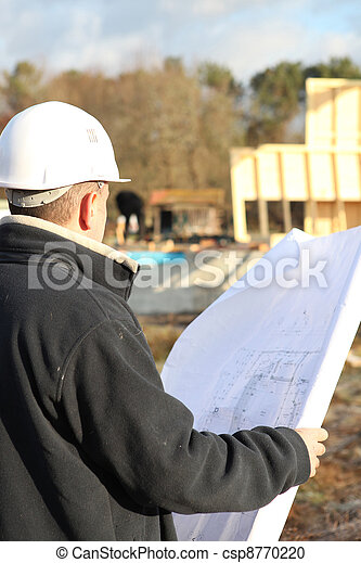 Builder on site with plans - csp8770220
