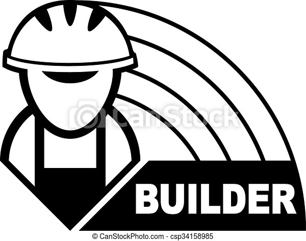 builder symbols abstract black symbol of the graphic builder