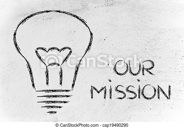 building a brand, company mission and business values - csp19490290