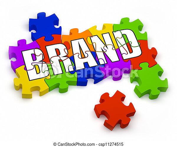 Building a Brand - csp11274515