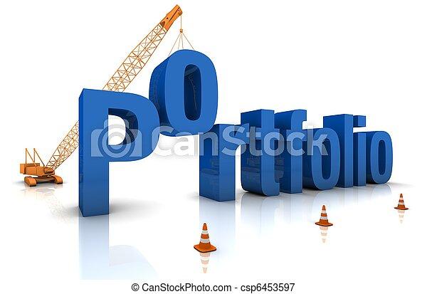 Building a Portfolio - csp6453597