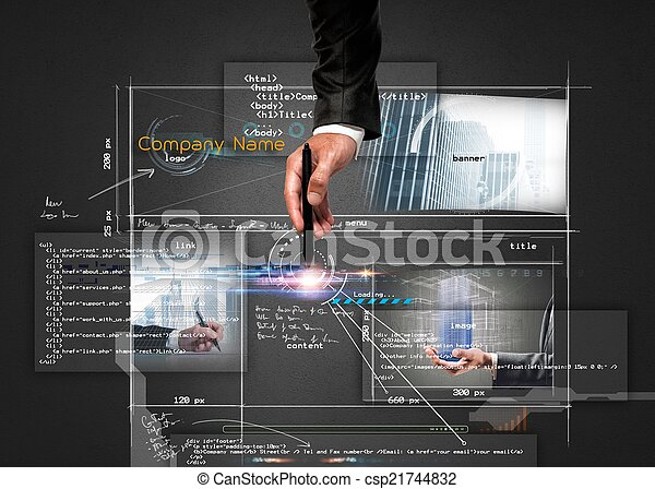 Building a website - csp21744832