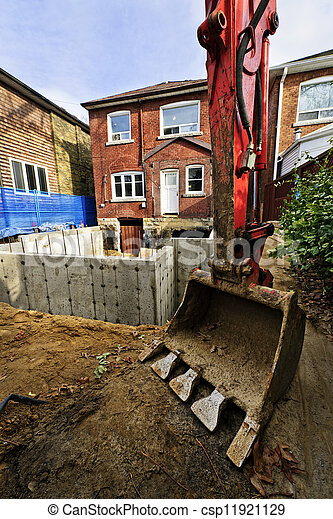 Building addition to home - csp11921129