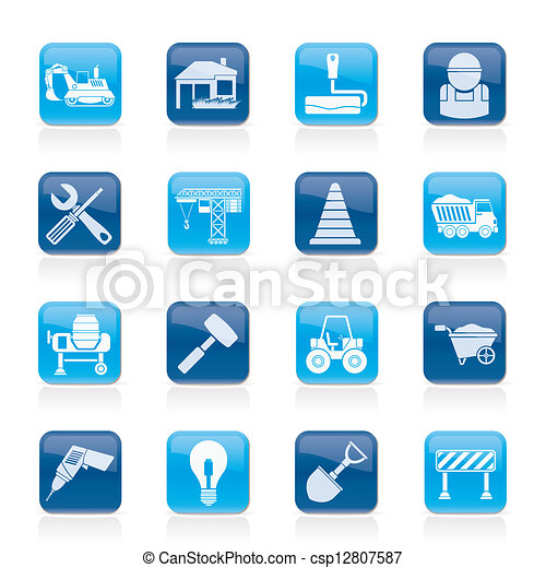 Building and construction icons - csp12807587