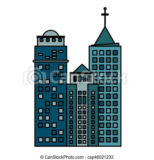 building architecture modern skyscraper vector illustration rh canstockphoto com singapore skyscraper vector dubai skyscraper vector