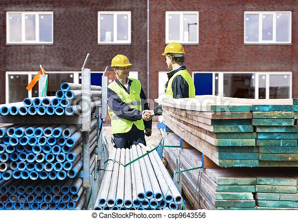 Building contractors - csp9643556