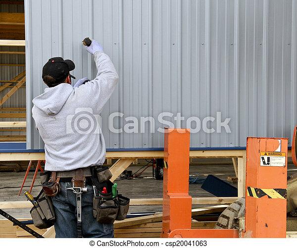 building contruction worker - csp20041063