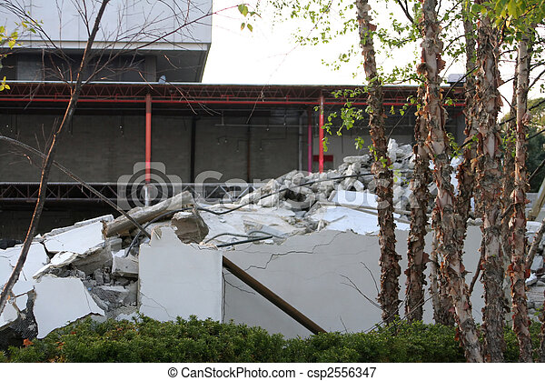 Building Demolition Debris - csp2556347