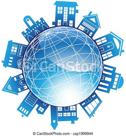Building Globe - csp1999944