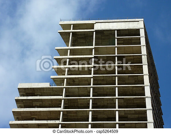 Building in construction - csp5264509