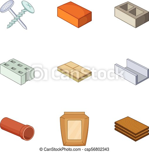 Image result for materials cartoon