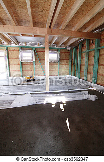 building new house - csp3562347