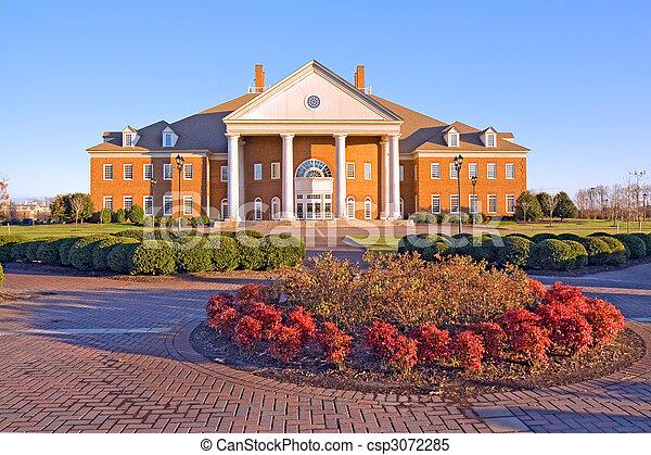 Building on a university campus in Virginia - csp3072285