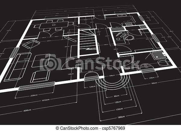 Architectural building plans eps vectors Search Clip Art
