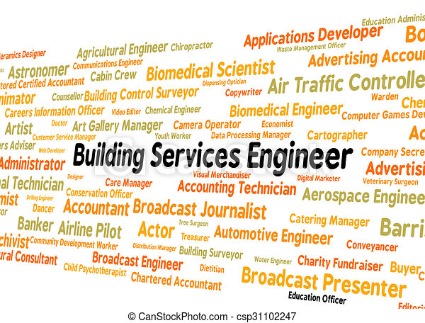 Building Services Engineer Indicates Jobs Mechanic And Engineers