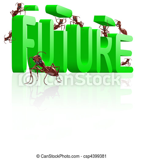 building the future innovate and create progress - csp4399381