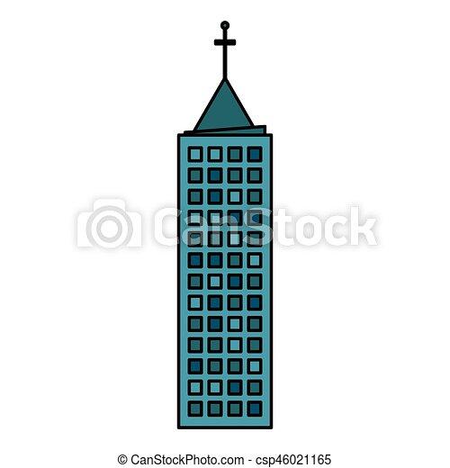 building town urban skyscraper vector illustration eps 10 clip art rh canstockphoto com  skyscraper buildings clipart
