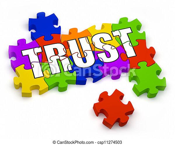 Building Trust - csp11274503