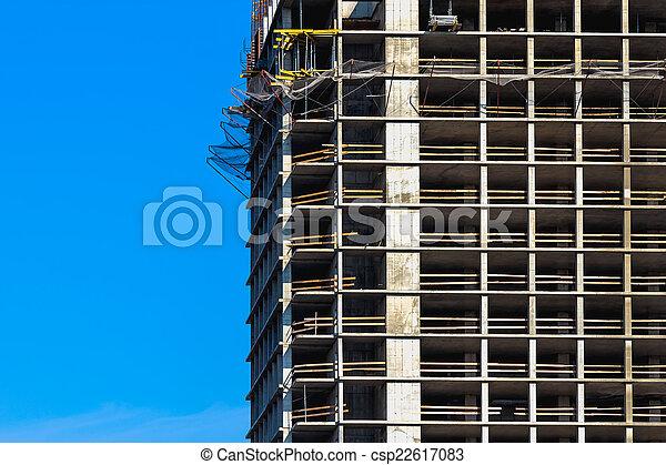 Building under construction - csp22617083