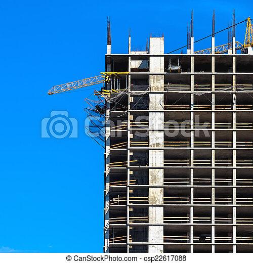 Building under construction - csp22617088